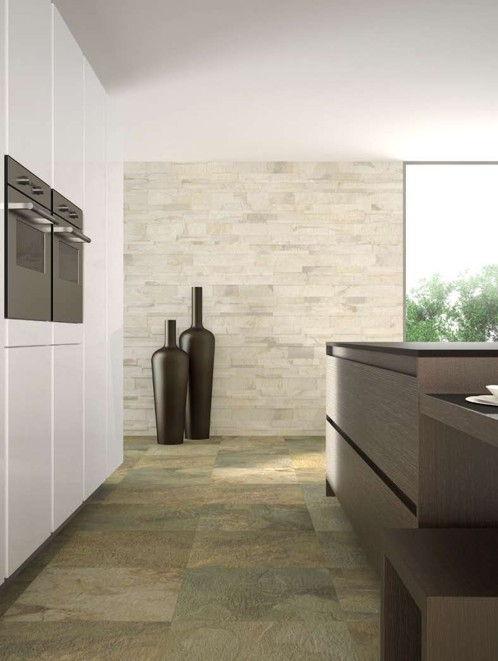 Allacciamenti cucina con modifiche agli impianti e finiture - Tagliare piastrelle gres con flessibile ...
