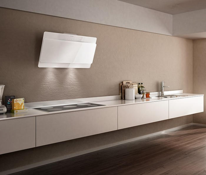 Stunning cappa cucina bianca contemporary - Cappa cucina ikea ...