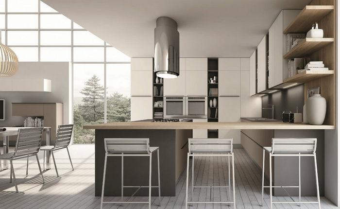 Cucina moderna flash da quellidicasa a chirignago mestre for Cucina moderna altezza