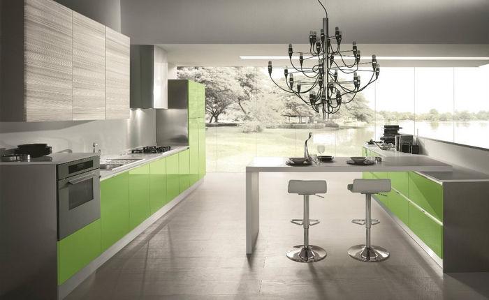 Cucina moderna flash da quellidicasa a chirignago mestre - Colori di cucine moderne ...