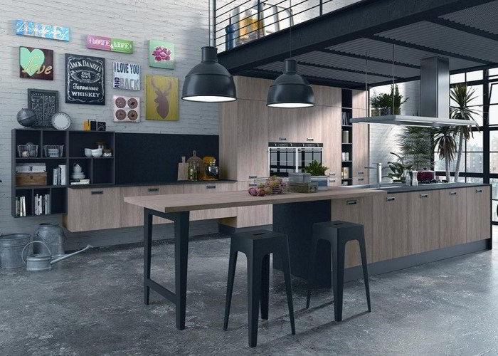 Cucina moderna love da quellidicasa a chirignago mestre venezia - Scaldasalviette per cucina ...