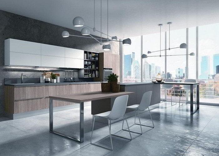 Cucina moderna love da quellidicasa a chirignago mestre - Cucine urban style ...