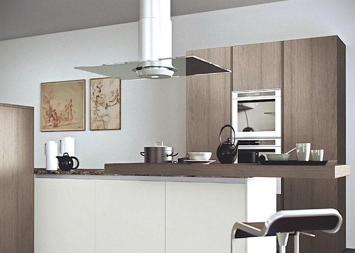 Cucine moderne con arredo finiture e impianti 1000 euro di bonus cucina - Mobili rovere grigio ...