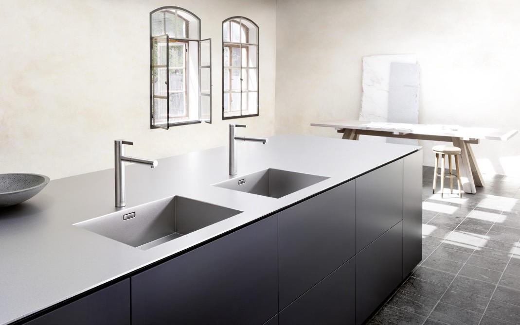 Lavello cucina quale scegliere e in quale materiale - Coprilavello cucina acciaio ...