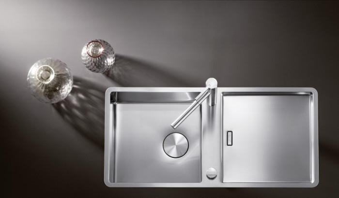 Lavandino Cucina In Acciaio.Lavello Cucina Quale Scegliere E In Quale Materiale Quellidicasa Com