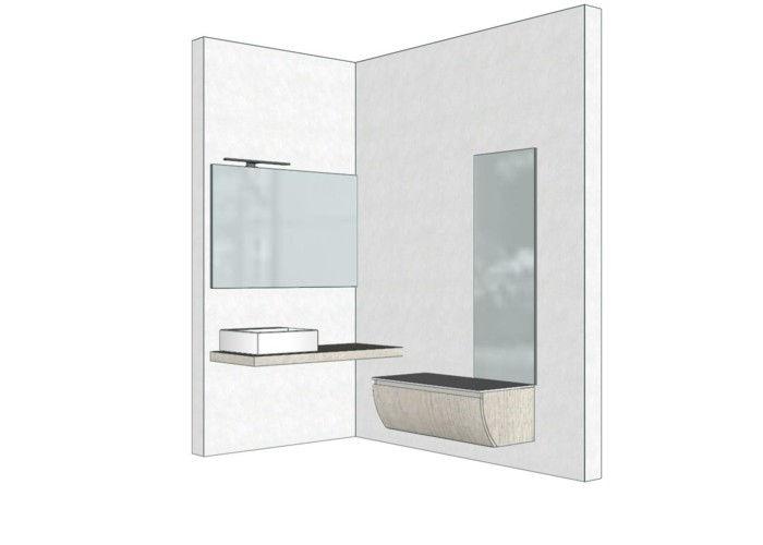 Mobile bagno angolare? 4 progetti del negozio di Mestre Venezia.