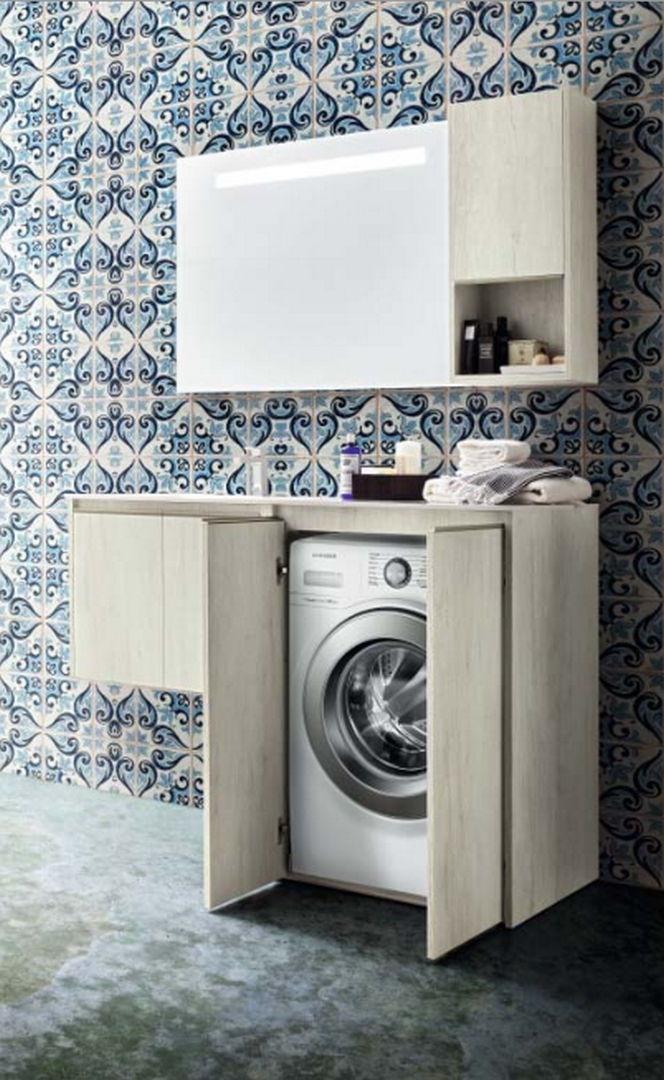 Mobili bagno lavatrice mobile lavatrice mobili idee e - Mobili per lavatrici e asciugatrici ...