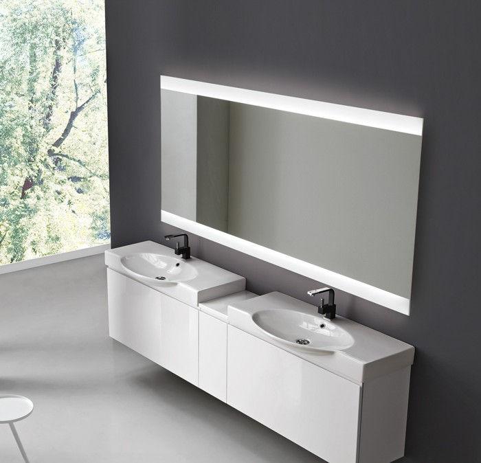 Specchio Bagno Umidita: Specchi da bagno contemporanea promozione fai ...