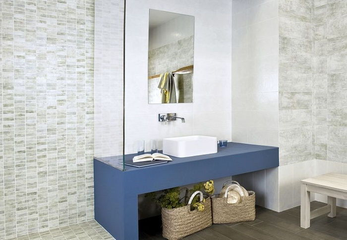Piastrelle Decorate Per Bagno: Migliori idee su piastrelle da parete.