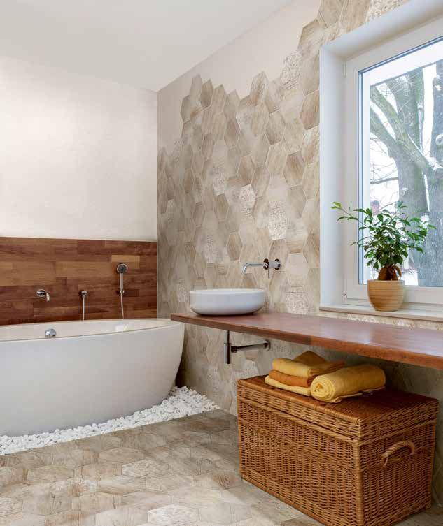 Piastrelle per bagno a chirignago mestre venezia offerte - Rivestimento bagno legno ...