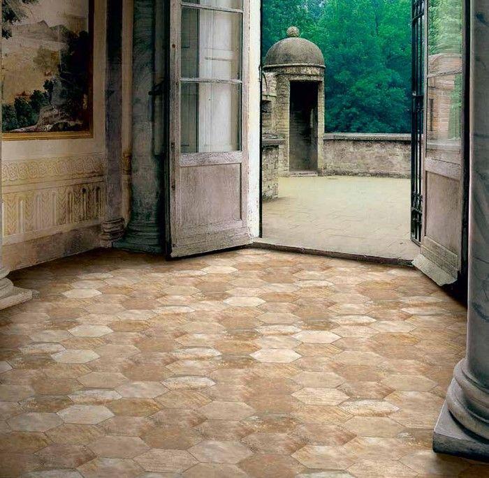 Piastrelle per pavimento in gres porcellanato scopri i - Piastrelle esagonali ...