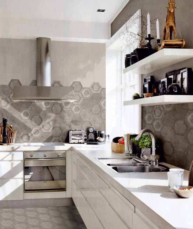 Beautiful cucina con piastrelle ideas home interior - Piastrelle colorate per cucina ...