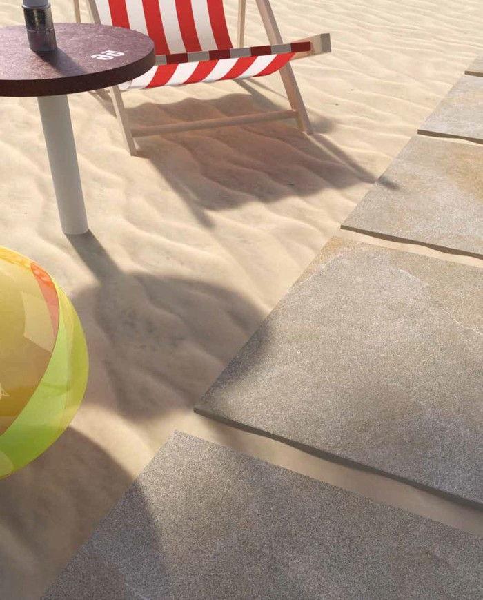 Posa di piastrelle da esterno spessore 20 o 18 mm - Posa pavimento esterno su sabbia ...