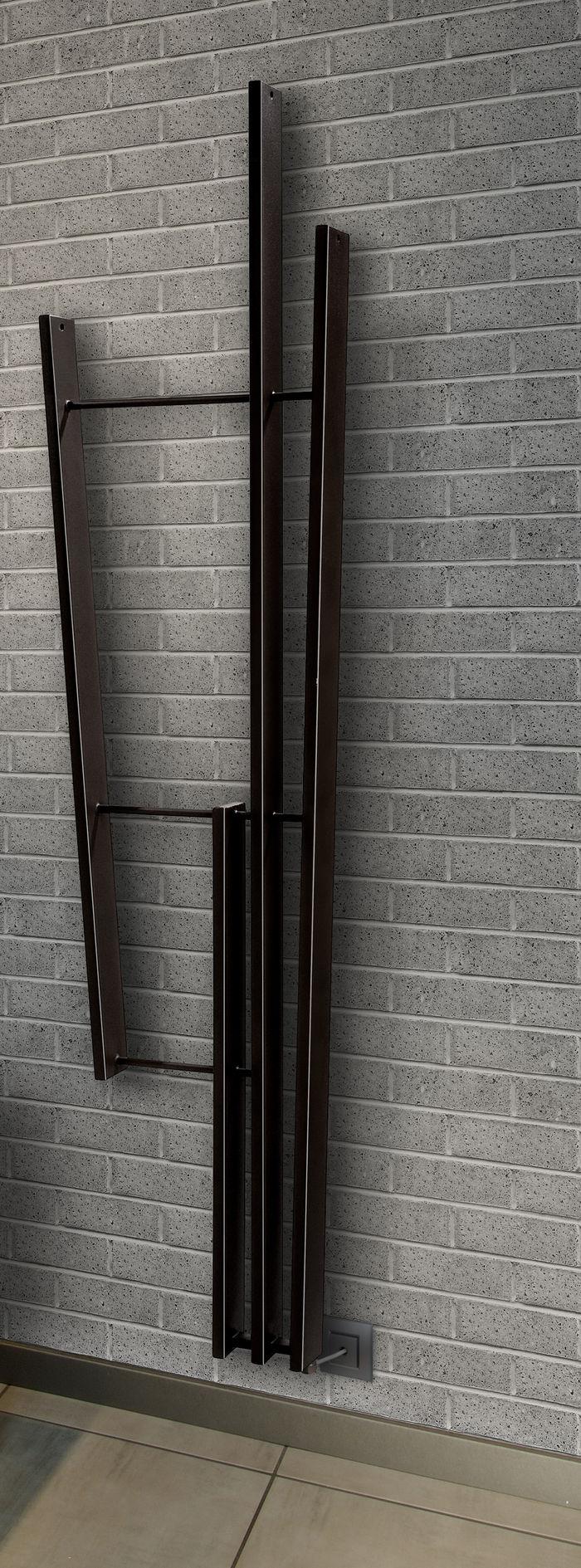 Radiatori elettrici per il riscaldamento di design a mestre venezia - Termoarredo bagno elettrico ...
