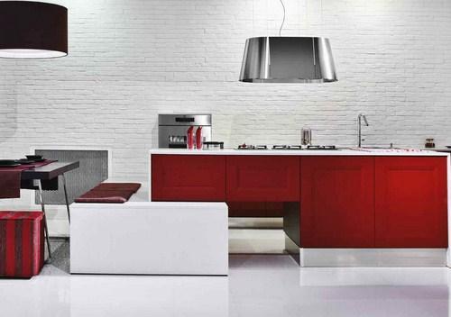 Perfect cucine bellissime parete mattoni with cucine - Cucine bellissime muratura ...