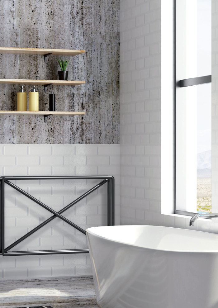 scaldasalviette bagno design Raw