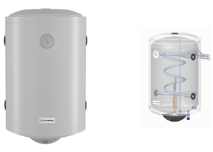 Bollitore acqua calda sanitaria termosifoni in ghisa for Serbatoio di acqua calda in rame