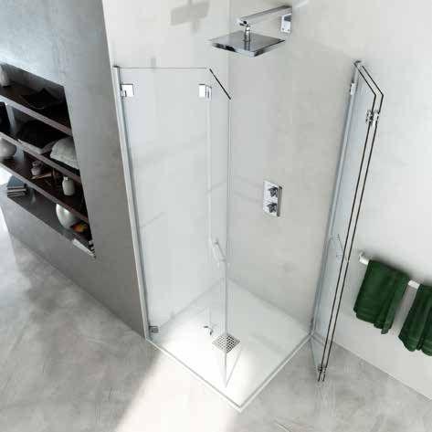 Sostituzione box doccia anche su misura che piacciono - Porta a soffietto per doccia ...