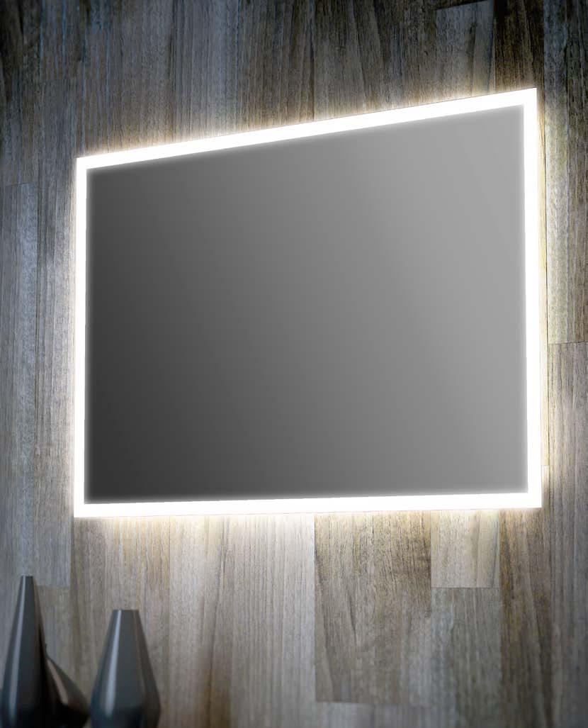Specchi Decorati Per Bagno.Specchi Bagno Retroilluminati Con Luci Led O Semplici Specchiere Bagno
