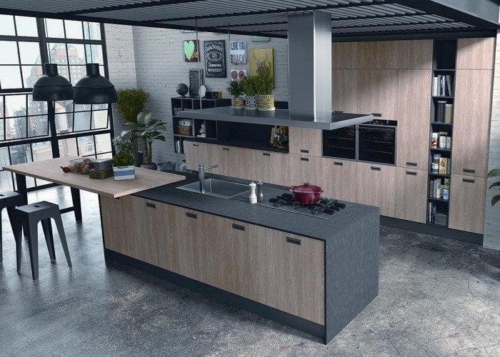 Top cucina e piani lavoro i migliori consigli su quali materiali e quali finiture - Top laminato cucina ...