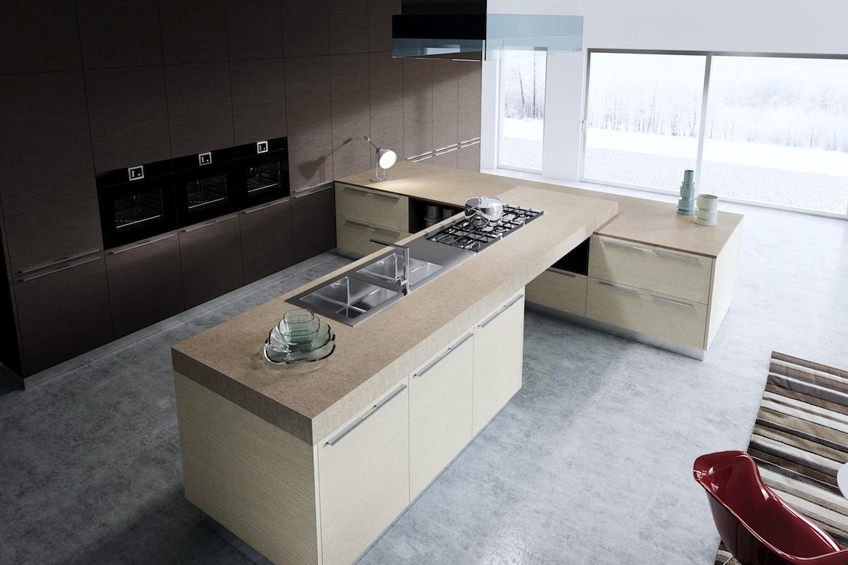 Top cucina materiali cucina industrial with top cucina - Piani cucina materiali ...
