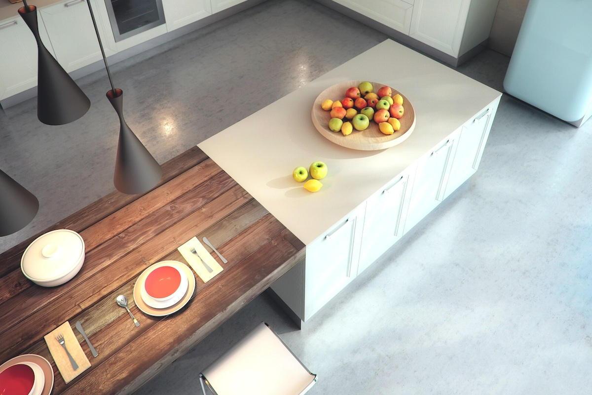 Top cucina e piani lavoro i migliori consigli su quali for Piani di casa molto ampia