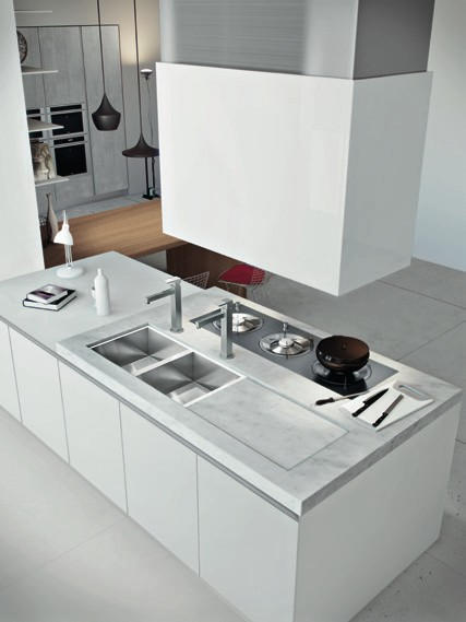 Awesome top cucine marmo images - Piani cucina materiali ...
