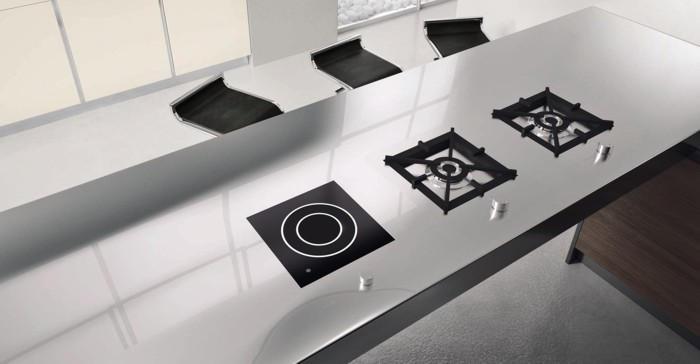 Top cucina e piani lavoro i migliori consigli su quali materiali e quali finiture - Top cucina acciaio inox prezzo ...