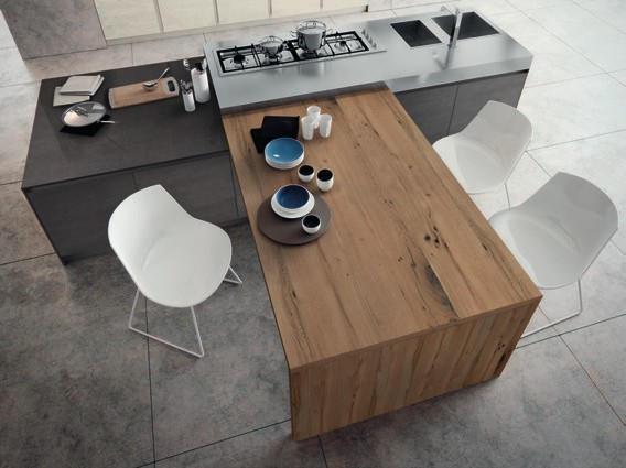 Top cucina e piani lavoro i migliori consigli su quali - Piano lavoro cucina legno ...