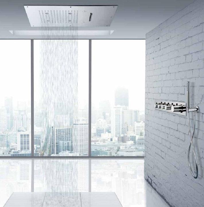 Vasca doccia sostituisci o trasforma la vasca da bagno in doccia - Soffione doccia a soffitto ...