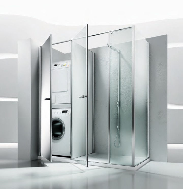 Mobile bagno moderno con lavatrice [tibonia.net]