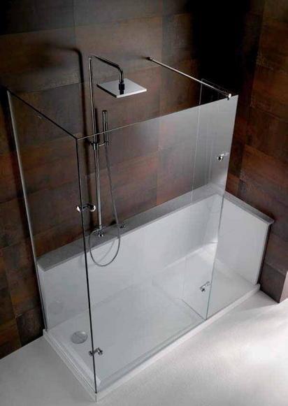 Vasca doccia sostituisci o trasforma la vasca da bagno - Da vasca da bagno a doccia ...