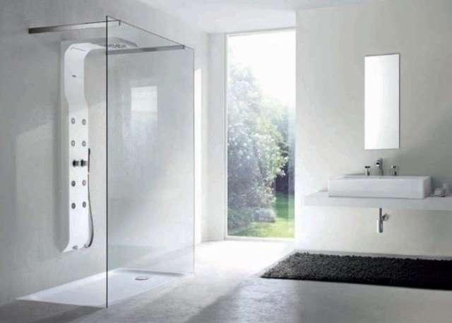 doccia aperta grande