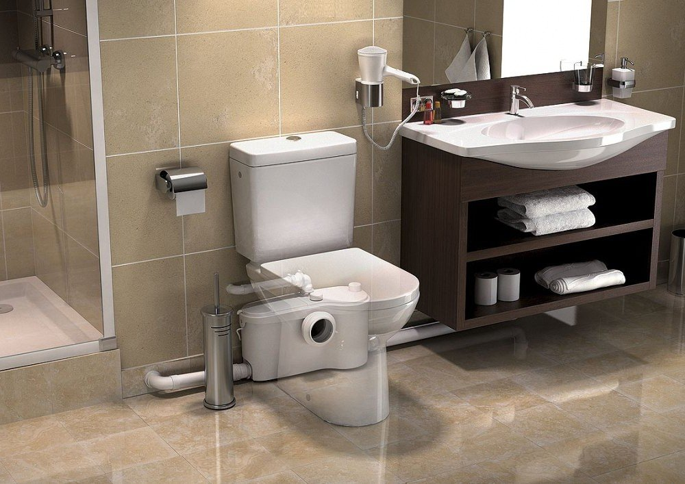 Sanitari trituratori e pompe trituratrici creare bagni e - Sanitari accessori bagno ...