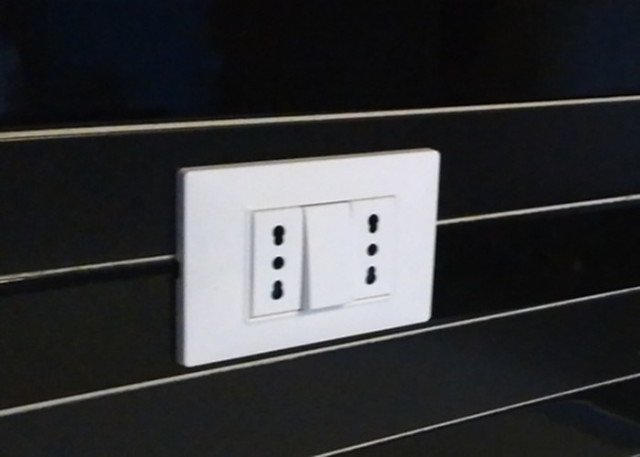 impianto elettrico della cucina