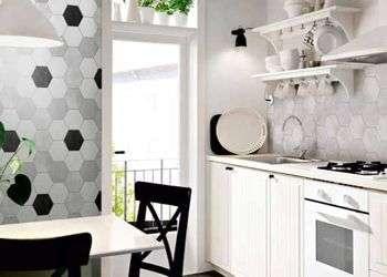 piastrelle esagonali per pavimenti e rivestimenti