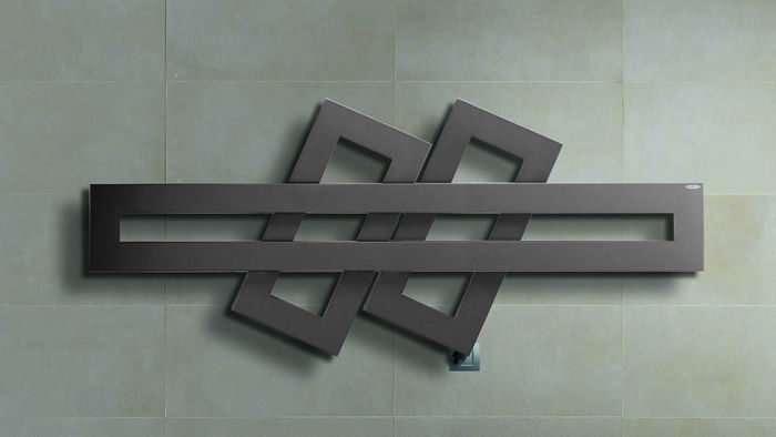 radiatori elettrici in acciaio modello Cross di Brem