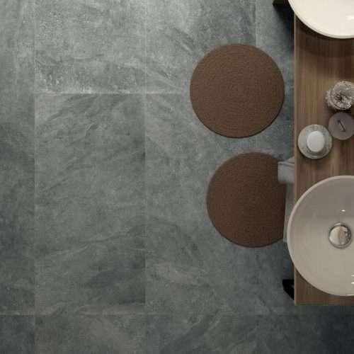 pavimento bagno gres porcellanato effetto pietra naturale Mineral Venezia Treviso