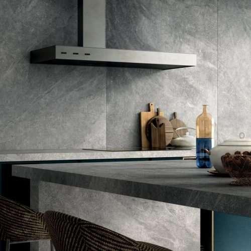 piastrelle cucina gres porcellanato effetto pietra Mineral Venezia Treviso