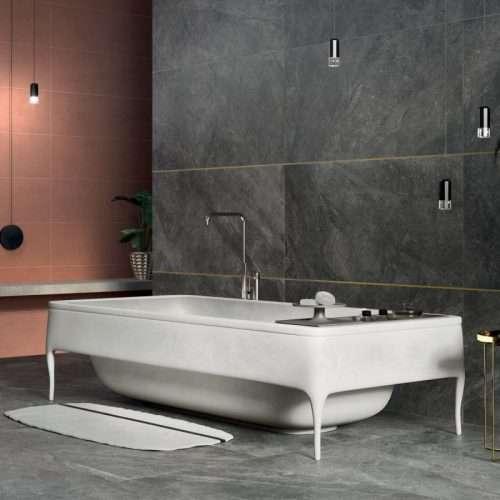 piastrelle bagno gres porcellanato effetto pietra Mineral Venezia Treviso