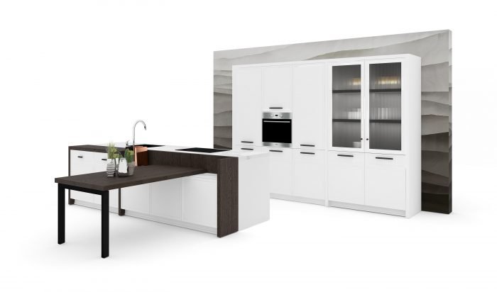cucina con isola Levante Venezia Marcon