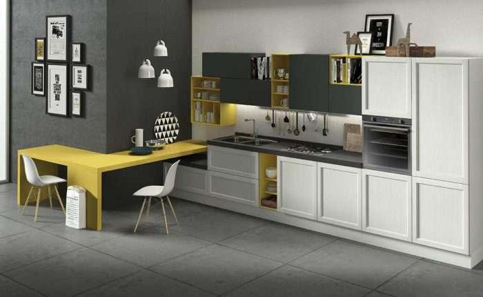 Cucina legno moderna Harmony Venezia