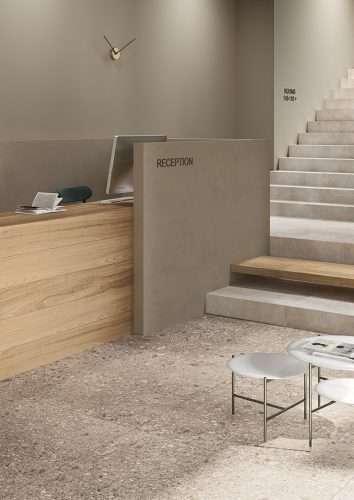 piastrelle pavimento gres porcellanato effetto pietra stelvio